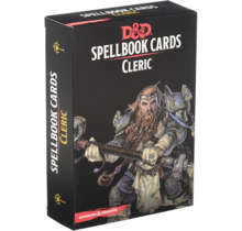 Dungeons and Dragons Spellbook Cards: Cleric