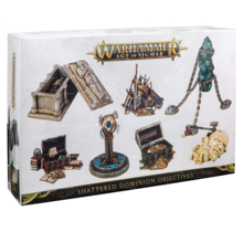 Warhammer Age of Sigmar Terrain Shattered Dominion Objectives