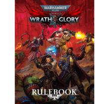 Warhammer 40k Wrath and Glory Core Rulebook HC Revised