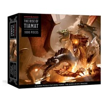 Dungeons and Dragons Rise of Tiamat Dragon Puzzle