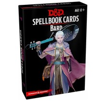 Dungeons and Dragons Spellbook Cards: Bard