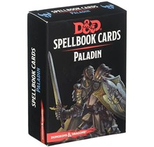 Dungeons and Dragons Spellbook Cards: Paladin