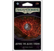 Arkham Horror Circle Undone Mythos Pack 6 Before the Black Throne