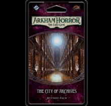 Arkham Horror Forgotten Age Mythos Pack 4 The City of Archives