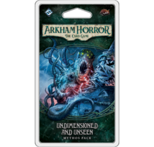 Arkham Horror Dunwich Legacy Mythos Pack 4 Undimensioned and Unseen