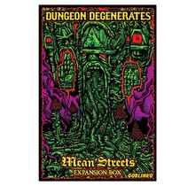 Dungeon Degenerates Hand of Doom Mean Streets Expansion Box