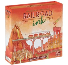 Railroad Ink Red Edition