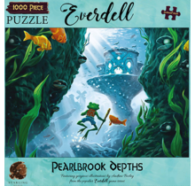 1000 pc Puzzle Everdell Pearlbrook Depths
