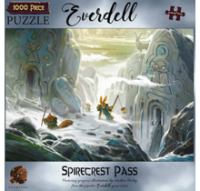 1000 pc Puzzle Everdell Spirecrest Pass