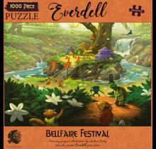 1000 pc Puzzle Everdell Bellfaire Festival