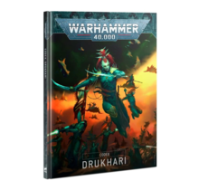 Warhammer 40k Codex Drukhari 9E