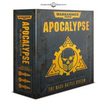 Warhammer 40k Apocalypse The Mass-Battle System
