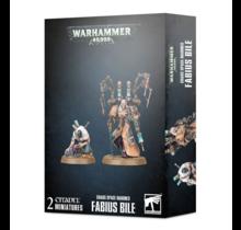 Warhammer 40k Chaos Space Marines Fabius Bile