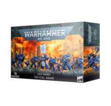 Warhammer 40k Space Marines Tactical Squad