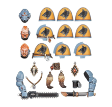 Warhammer 40k Space Wolves Primaris Upgrades