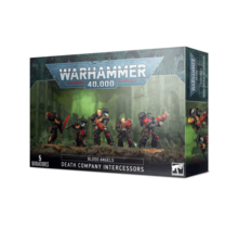 Warhammer 40k Space Marines Blood Angels Death Company Intercessors