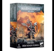 Warhammer 40k Iron Hands Iron Father Feirros