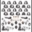 Games Workshop Warhammer 40k Space Marines Iron Hands Primaris Upgrades and Transfers