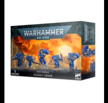 Warhammer 40k Space Marines Assault Squad