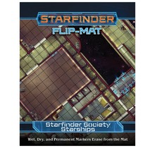 Starfinder Flip-Mats Society Starships