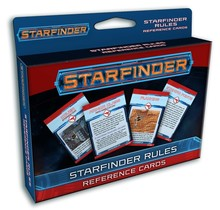 Starfinder Rules Reference Cards Deck