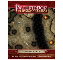 Pathfinder Flip Mats Classics Dragon's Lair