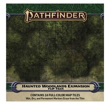 Pathfinder Flip Tiles Haunted Woodland Expansion