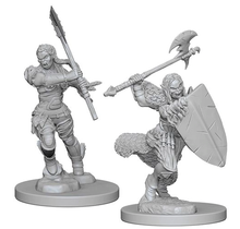 Pathfinder Deep Cuts Half-Orc Female Barbarian