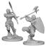 WizKids Pathfinder Deep Cuts Half-Orc Female Barbarian