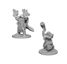 Dungeons and Dragons Nolzur's Marvelous Minis Dwarf Male Cleric