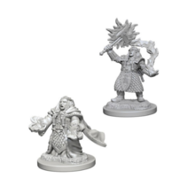 Dungeons and Dragons Nolzur's Marvelous Minis Dwarf Female Cleric