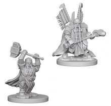 Dungeons and Dragons Nolzur's Marvelous Minis Dwarf Male Paladin