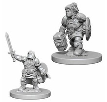 Dungeons and Dragons Nolzur's Marvelous Minis Dwarf Female Paladin