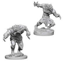 Dungeons and Dragons Nolzur's Marvelous Minis Werewolves