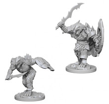 Dungeons and Dragons Nolzur's Marvelous Minis Dragonborn Male Fighter