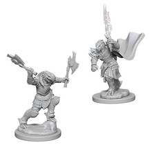 Dungeons and Dragons Nolzur's Marvelous Minis Dragonborn Female Fighter