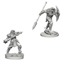 Dungeons and Dragons Nolzur's Marvelous Minis Dragonborn Fighter with Spear