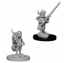 Dungeons and Dragons Nolzur's Marvelous Minis Male Halfling Fighter