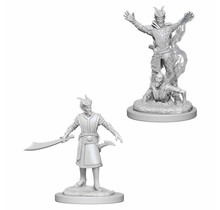 Dungeons and Dragons Nolzur's Marvelous Minis Male Tiefling Warlock