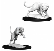 Dungeons and Dragons Nolzur's Marvelous Minis Panther and Leopard