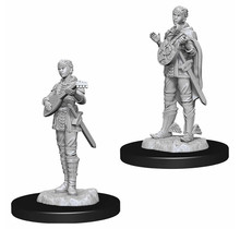 Dungeons and Dragons Nolzur's Marvelous Minis Half-Elf Female Bard