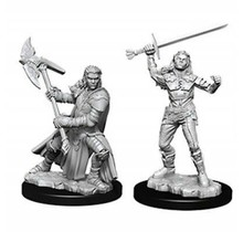 Dungeons and Dragons Nolzur's Marvelous Minis Female Half-Orc Fighter