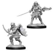 Dungeons and Dragons Nolzur's Marvelous Minis Female Half-Elf Ranger