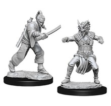 Dungeons and Dragons Nolzur's Marvelous Minis Human Monk (2) Male