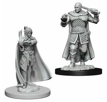 Dungeons and Dragons Nolzur's Marvelous Minis Minsc, Human Ranger and Delina, Moon Elf Sorcerer