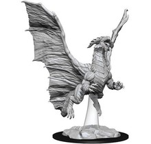 Dungeons and Dragons Nolzur's Marvelous Minis Young Copper Dragon