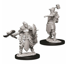 Dungeons and Dragons Nolzur's Marvelous Minis Female Half-Orc Barbarian