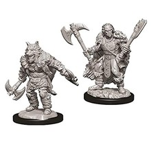 Dungeons and Dragons Nolzur's Marvelous Minis Male Half-Orc Barbarian