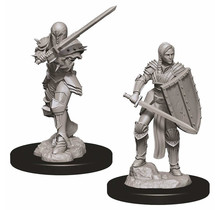 Dungeons and Dragons Nolzur's Marvelous Minis Female Human Fighter