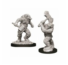 Dungeons and Dragons Nolzur's Marvelous Minis Wereboar and Werebear